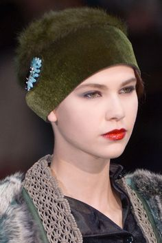 Red: A Texture Story at Emporio Armani Fall 2013