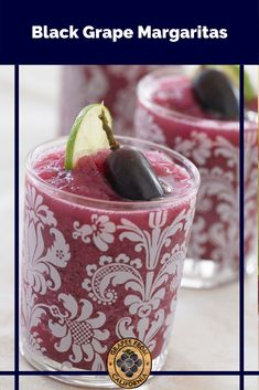 Try this simple, classic, frozen margarita recipe featuring fresh black grapes from California and lime that's blended and easy to make! #margaritarecipes #margarita #frozen #easy #best #classic #fresh #simple #lime #blended #easyfrozen #grapes #blackgrapes #graperecipes Margarita Recipes, Drink Recipes, Party Food To Make, Grape Recipes, Make Ahead Appetizers, Black Grapes, Recipe Using, Party Planning, Empty