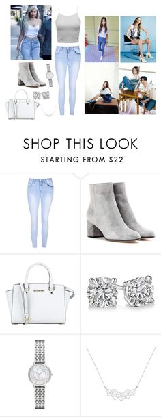 """""""Fashion..........."""" by anjela-02 ❤ liked on Polyvore featuring Glamorous, Gianvito Rossi, MICHAEL Michael Kors, Emporio Armani, A Weathered Penny and Jagger"""