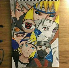 "Naruto Drawn by --------------------------- Tag me and i tag you! Artists tag you draw…"" Anime Naruto, Anime Echii, Naruto Shippuden Sasuke, Naruto Art, Naruto And Sasuke, Anime Kawaii, Boruto, Kakashi Hatake, Itachi"