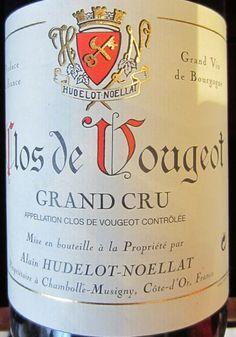 Clos du Vougeot, great Burgundy from Hudelot-Noellat