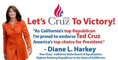 A GIANT California endorsement for Ted Cruz