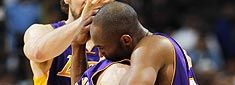 #Lakers head home with one more game to win before facing the Thunder. But wait, how about #MettaWorldPeace ?