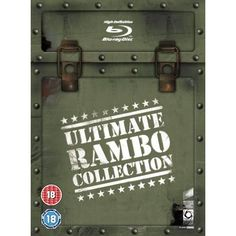 Rambo - The Ultimate Blu-ray Collection Four Movie, Rambo, Blu Ray Collection, First Blood, Sylvester Stallone, He Day, Action, German Language, Vietnam