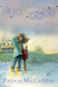 Fly Away by Patricia MacLachlan. A beautiful book that makes the chapters un-intimidating, with characters who show kindness and support.