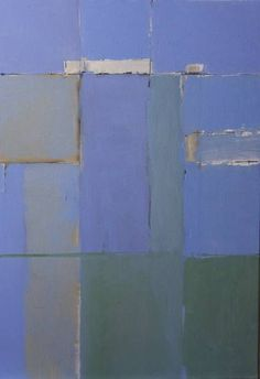composition - blue and green