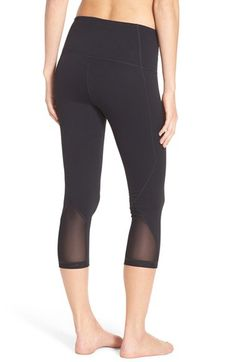Check out the Zella 'Hatha' High Waist Crop Leggings from Nordstrom: http://shop.nordstrom.com/S/4201329