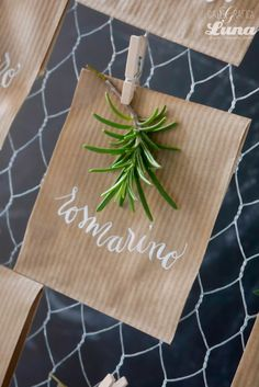 wedding stationery - Calligraficaluna per Angela Bartolomeo