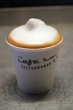 Cafe Cubano cappuccino