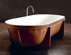 'Controstampo' bathtub by Vittorio Venezia for Falper