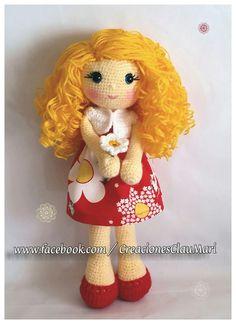 Muñeca de ganchillo ❤ dolls