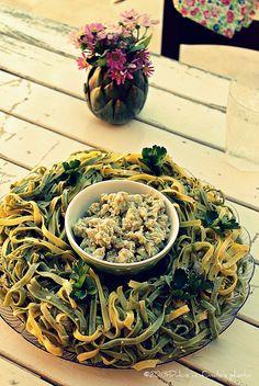 Corona di paglia e fieno con ragù di tacchino e formaggio Asiago http://www.asiagocheese.it/it/asiago-network/amici-asiago-dop//scheda-utente-network/ricetta-network/corona-di-paglia-e-fieno-con-ragu-di-tacchino-e-fo?id=70/  #Asiago #AsiagoCheese