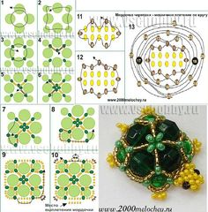 Черепашка why are all the good bead patterns in a different language?