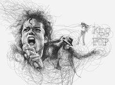 Por el Amor del Art-E: El arte del garabato Pencil Art, Pencil Drawings, Vince Low, Scribble Art, Paper Drawing, Us Images, Illustration, Artwork, Prints
