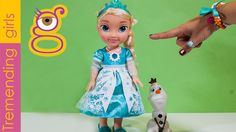 Elsa Musical Vestido Luminoso - Frozen Singing Elsa Doll with Light-up D...