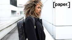 water-repellent rucksack with a minimalist design. made out of a unique paper material. we are [sustainable.] [ethical.] [transparent.]