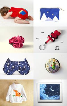 Look up, Little Prince by Silvia - Mammabook on Etsy--Pinned with TreasuryPin.com