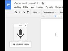 Dictado por voz; el ordenador escribe mientras tú hablas - YouTube