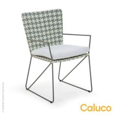 Encanto Dining Arm Chair by Caluco available at LoftModern.com #patio furniture #caluco #encanto