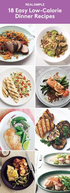 18 Easy Low-Calorie Dinner Recipes | Trying to cut back? These tasty dinners all clock in at less than 400 calories per serving.