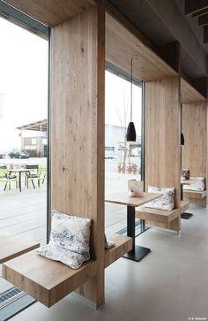 Architekturstudio-Fischer | Café Treiber Steinenbronn in Germany #CoffeeShops