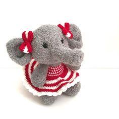 Amigurumi Elephant Crochet Elephant Toy Plush by AmiAmiGocco