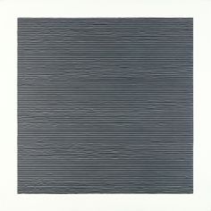 Matt Niebuhr, untitled, #4 lines, black and white on grey  2011