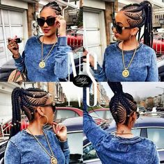 Scroll down, select and share the ones that look more appealing to you.Ghana weaving is not just restricted to the basic form of cornrow styles. This post has more complex Ghana weaving styles that you will not regret getting. African Braids Hairstyles, Feathered Hairstyles, Black Girls Hairstyles, Hairstyles With Bangs, Braided Hairstyles, Hairstyles 2018, Ladies Hairstyles, Pixie Hairstyles, Updos Hairstyle