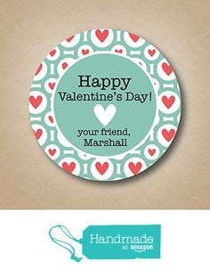 Happy Valentine's Day Favor Stickers from Stick 'em up labels https://www.amazon.com/dp/B01N1WV34Q/ref=hnd_sw_r_pi_dp_oUPzybGM2EPYF #handmadeatamazon