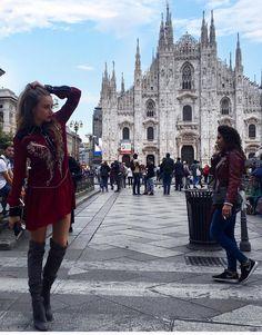 "Xenia Tchoumitcheva: ""Come da tradizione."" Instagram: https://www.instagram.com/p/BKqZaBUAPKa/ Facebook: https://www.facebook.com/groups/167417620276194/"
