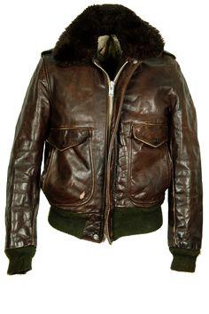 atelierdelarmee: Schott Flight Jacket, for sale at Atelier de l'Armee - atelierdelarmee.com