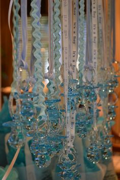 "Baby Shower Game..Say ""BABY"" and lose your necklace, fun!"