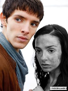 Merlin and Freya. That was such a sad episode