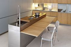Folding table on Slim, Elmar Cucine