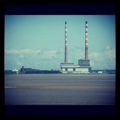 Favourite Dublin landmark-Poolbeg twin towers Dublin Bay, Peg Loom, Willis Tower, Towers, Cn Tower, Twin, Building, Photos, Travel