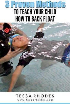 If your child can float comfortably on his front for at least five seconds, then he's ready to learn how to back float. CLICK THROUGH to read the full post and learn more about how to help your child overcome his fear of water. And if he cannot perform a Swimming For Beginners, Swimming Lessons For Kids, Swim Lessons, Teach Kids To Swim, Learn To Swim, Swimming Coach, Baby Swimming, Teaching Kids, Kids Learning