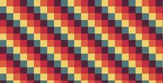 retro pattern cloth
