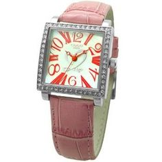 COGU(コグ) 腕時計 Ryo リョウ スクエアシリーズ ピンク RYO1206S-R1P レディースウォッチ - 拡大画像  #レディース時計 #レディース時計プレゼント #レディース時計人気20代 #レディース財布 #レディース時計ブランド #レディース時計人気