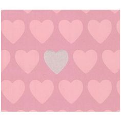 Graham & Brown Hearts Wallpaper - Pink from Homebase.co.uk