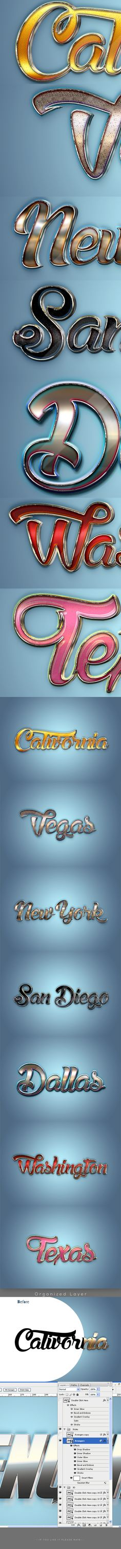 #3D Text Styles V05-08-16 - Text Effects #Actions Download here: https://graphicriver.net/item/3d-text-styles-v050816/18011594?ref=alena994