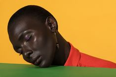 Fashion editorial for Alpha Fashion Magazine  Colourful beauty, fashion, style and makeup with african model, Awa