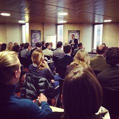 1er séminaire de LIFT consacré aux startups suisses.
