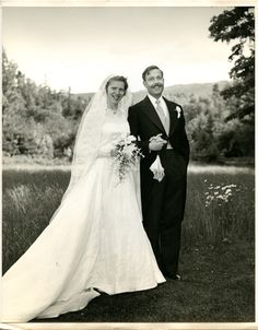 Wedding Dress, 1952. American Textile History Museum, Lowell, MA.