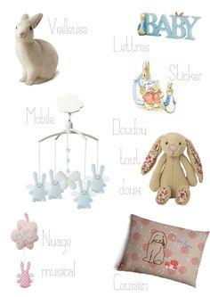 Sweet Félicité: BB: Des lapins pour sa chambre!