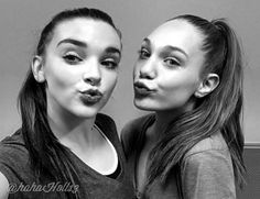 Added by #hahah0ll13 Dance Moms Kendall Vertes and Maddie Ziegler