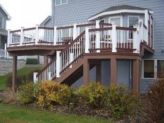 TimberTech Twin Finish Deck by Des Moines area Archadeck - Composite and Vinyl (PVC) Photo Gallery - Archadeck of Central Iowa