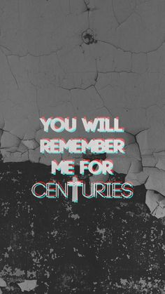 My Lockscreens - Fall Out Boys / Centuries