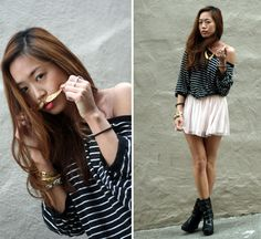 Feather Mustache (by Aimee Song) http://lookbook.nu/look/486861-Feather-Mustache