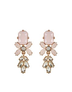 Carina Statement Earrings | Pink | Accessorize