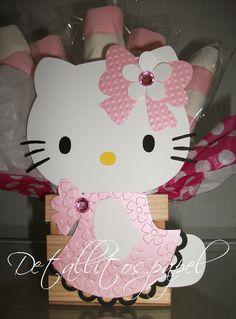 Hello Kitty Centerpiece Topper centerpiece by Detallitospapel